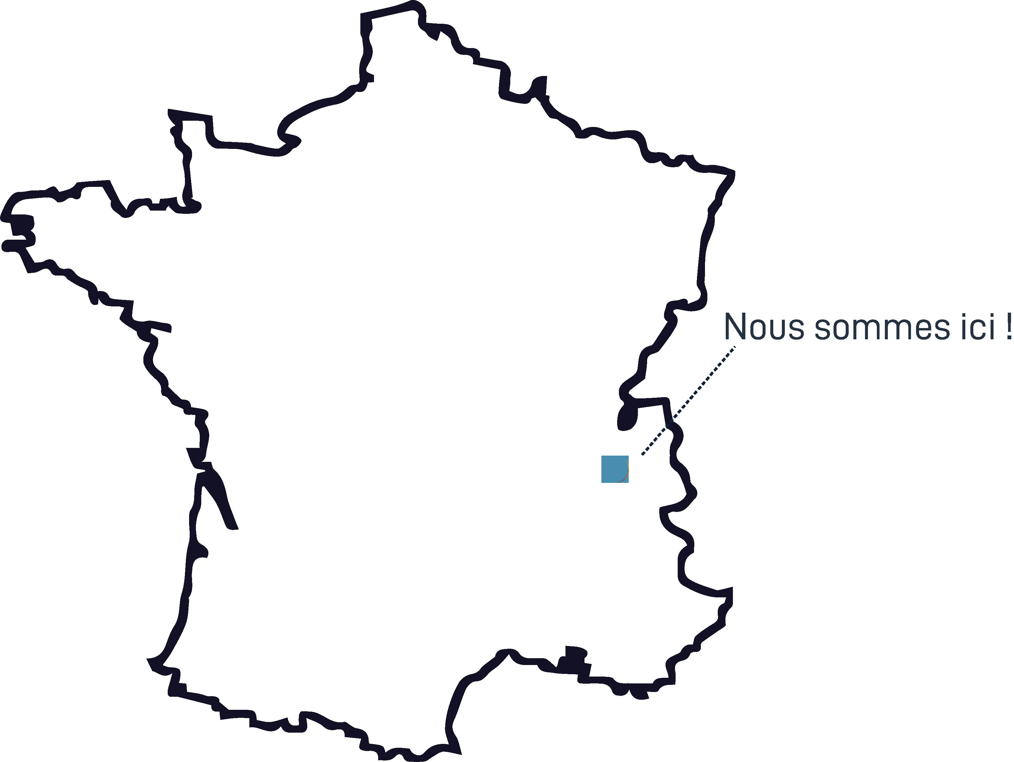 NC FACTORY - Où nous trouver ? Rhône-Alpes, France   Pont-de-Beauvoisin, Domessin   Savoie, Isère