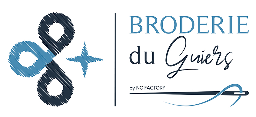 Broderie du Guiers by NC Factory - Logo